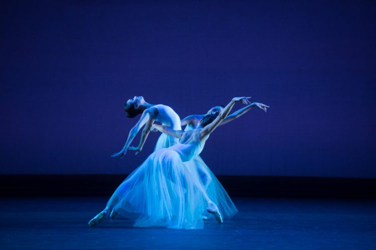 Photo: Serenade, Hong Kong Ballet, photo © Cheung Wai Lok