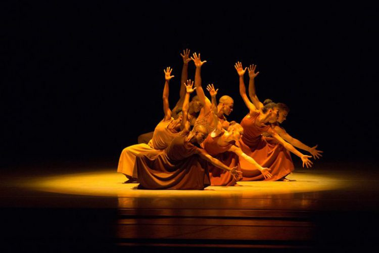 Alvin Ailey's Revelations; photo by Rosalie O'Connor