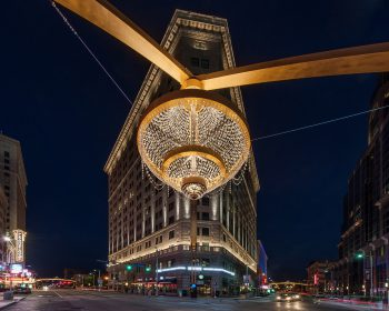 The Playhouse Square chandelier