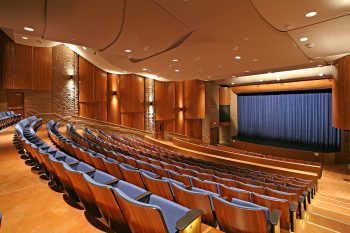 The interior of the Chaminade High School Performing Arts Center