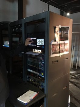 A rack-mounted ColorSource 20