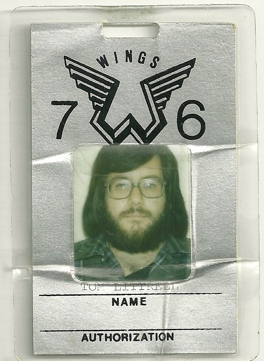 Wings Backstage Pass