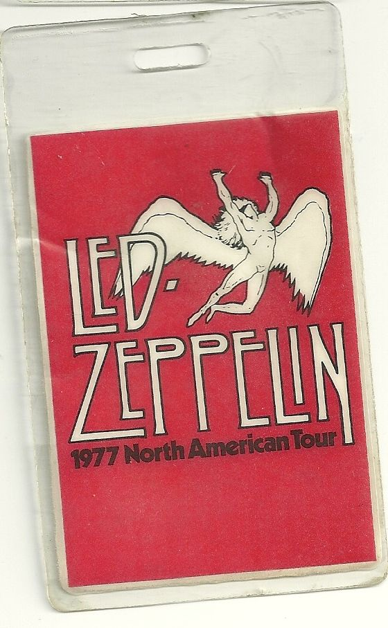 Zeppelin Backstage Pass