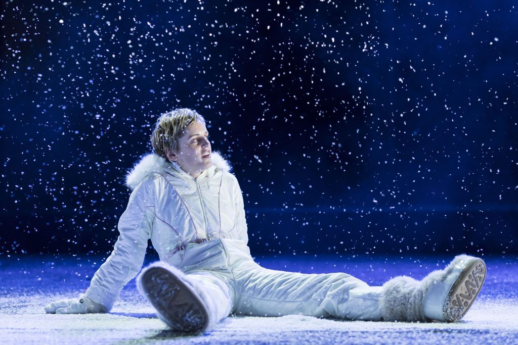 Denise Gough (Harper) in Angels in America - Millennium Approaches (c) Helen Maybanks