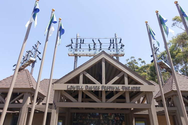 The Lowell Davies Festival Theatre at San Diego's Old Globe Theatre.