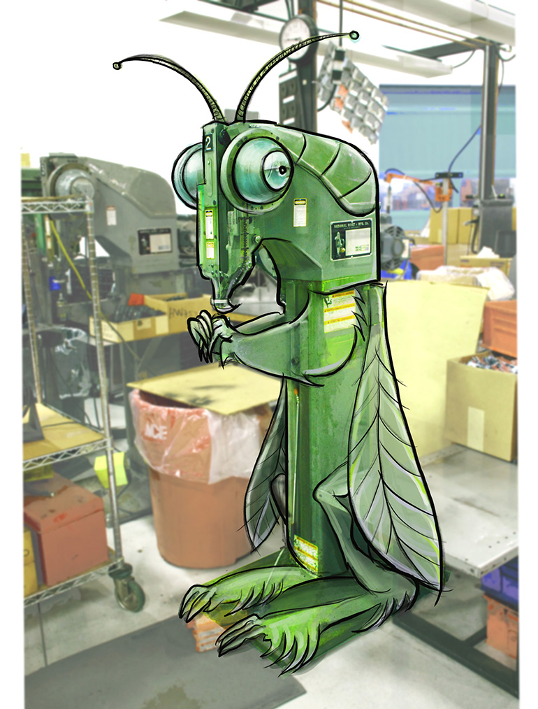 ETC Art Metal Shop Zorak