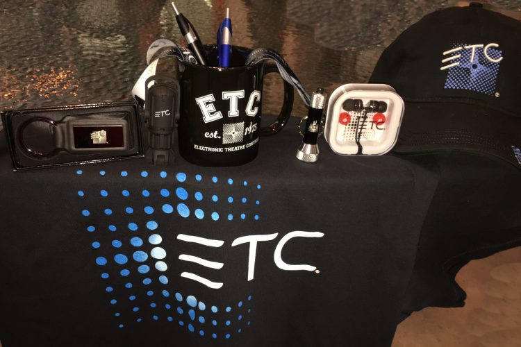 A peek inside the ETC swag bag
