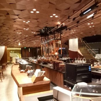 ETC lights Starbucks Shangai