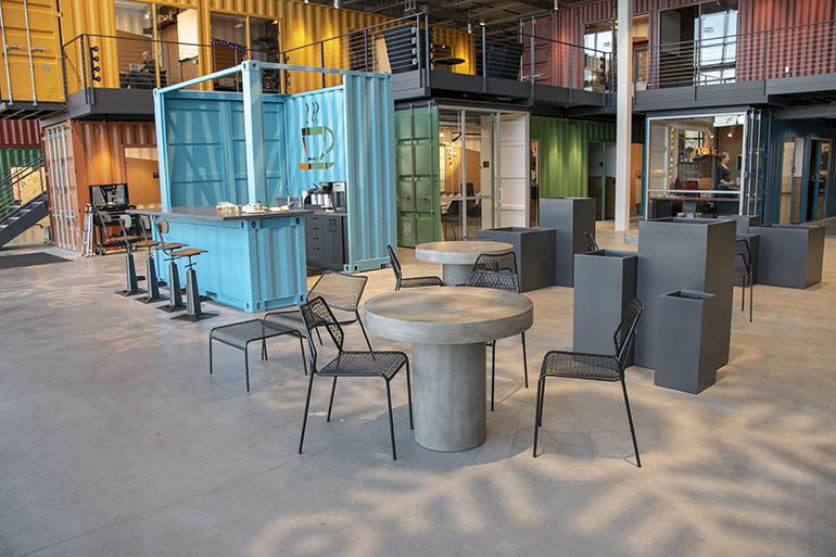 ETC Container coffee bar