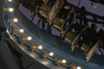 ArcLamp LED fixtures in the Newmark Theatre