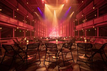 Paradigm from ETC controls architectural lighting in the Winningstad Theatre