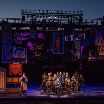 The Muny opening night of Guys and Dolls
