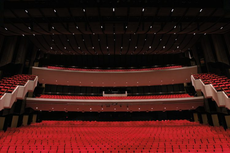 ArcSystem ushers in the future of lighting at Centennial Concert Hall