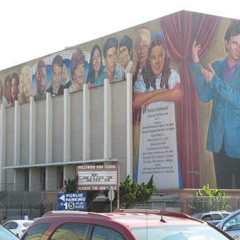 Hollywood High mural
