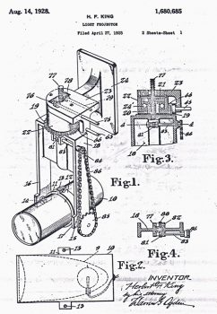 moving light patent