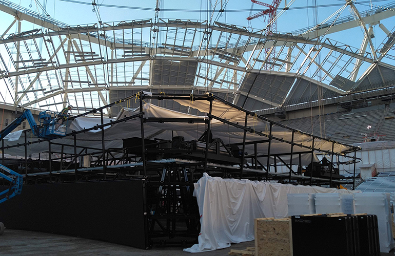 ETC Rigging Carrier Dome
