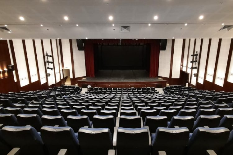 ColorSource fixtures light the stage for students in Jordan