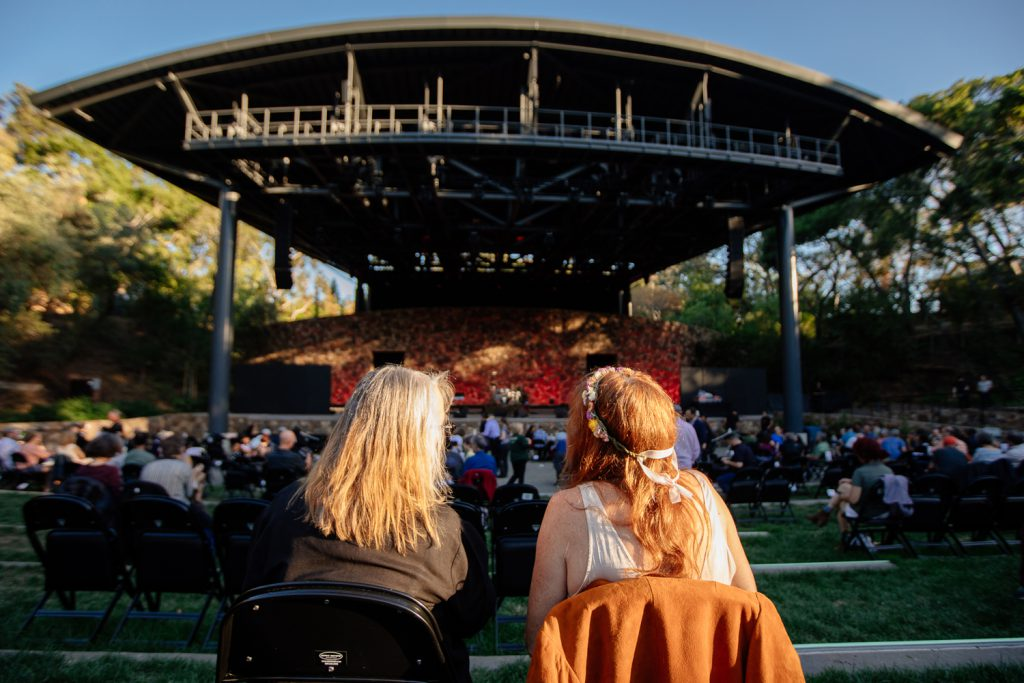Frost Amphitheater Looks Back to the Future with ETC